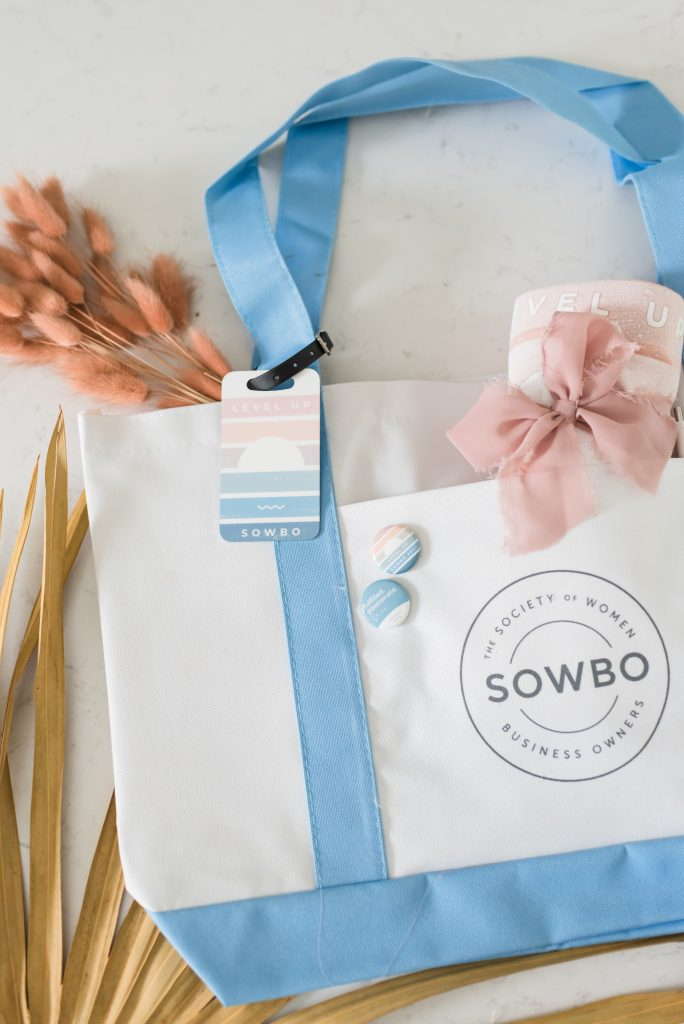 Society of Women Business Owners Swag Bag Gift