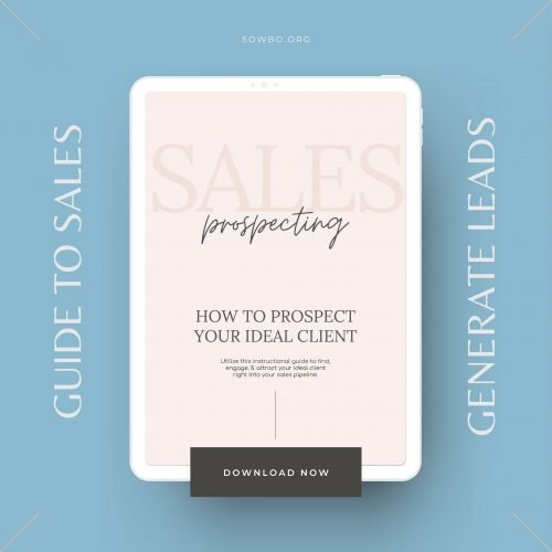 Guide to Prospecting Sales